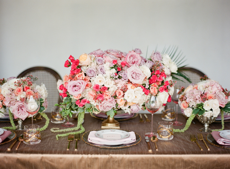 Hand-painted wedding inspiration ideas
