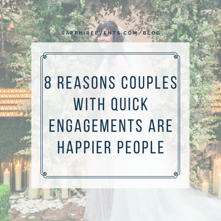 8 reasons couples with quick engagements are happier people