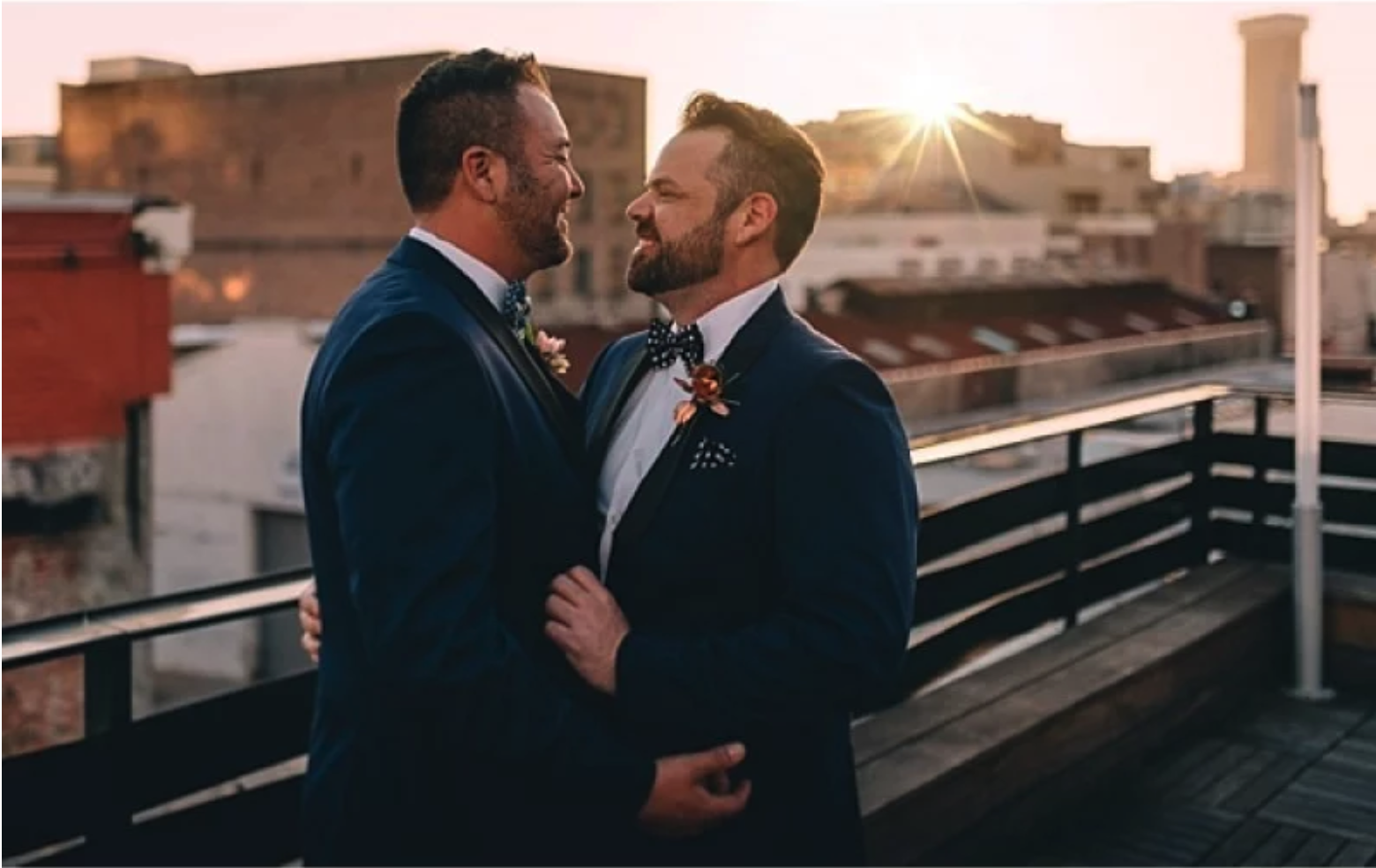 Brent and Herb's Dark Romantic New Orleans Wedding