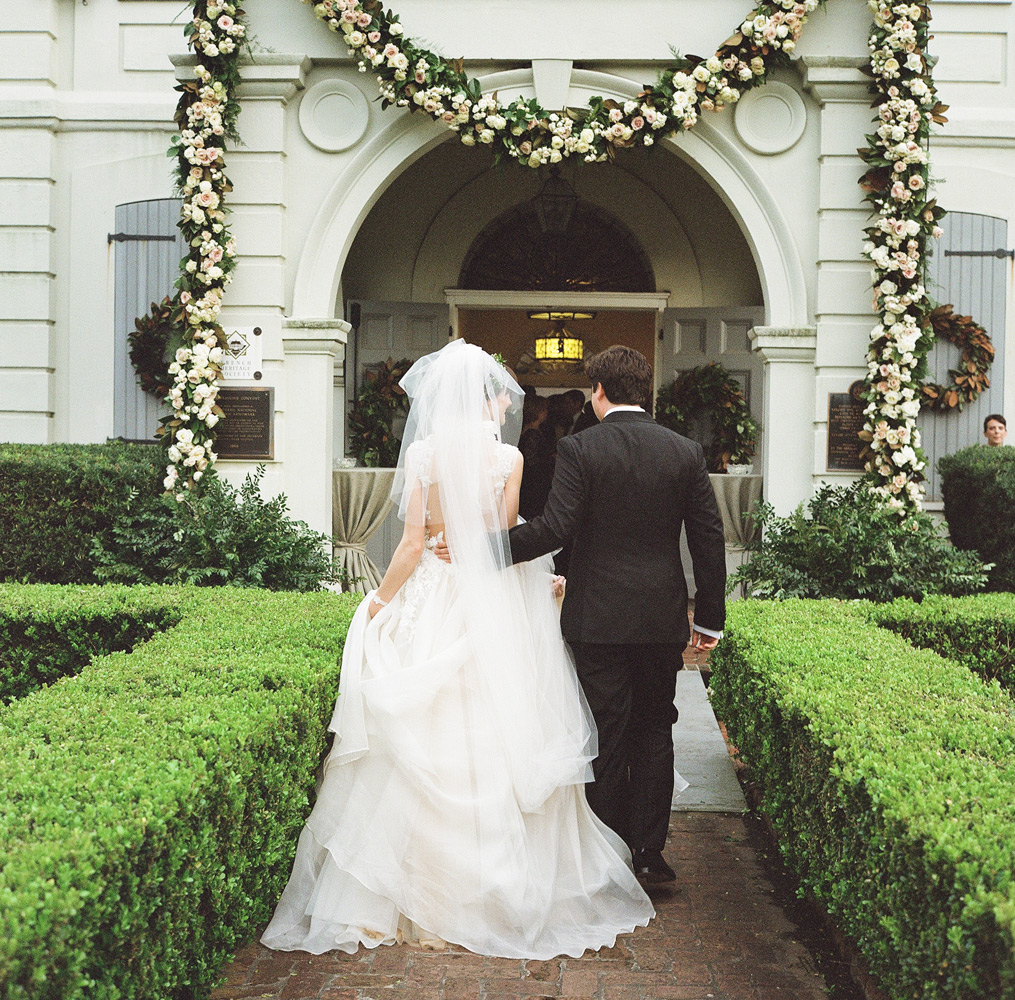 Stunningly Gorgeous St. Louis Cathedral Wedding