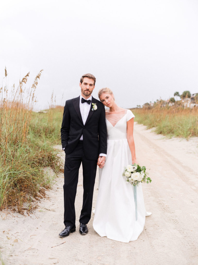 Kleinfeld Bridal and Sapphire Events Beach Photo Shoot
