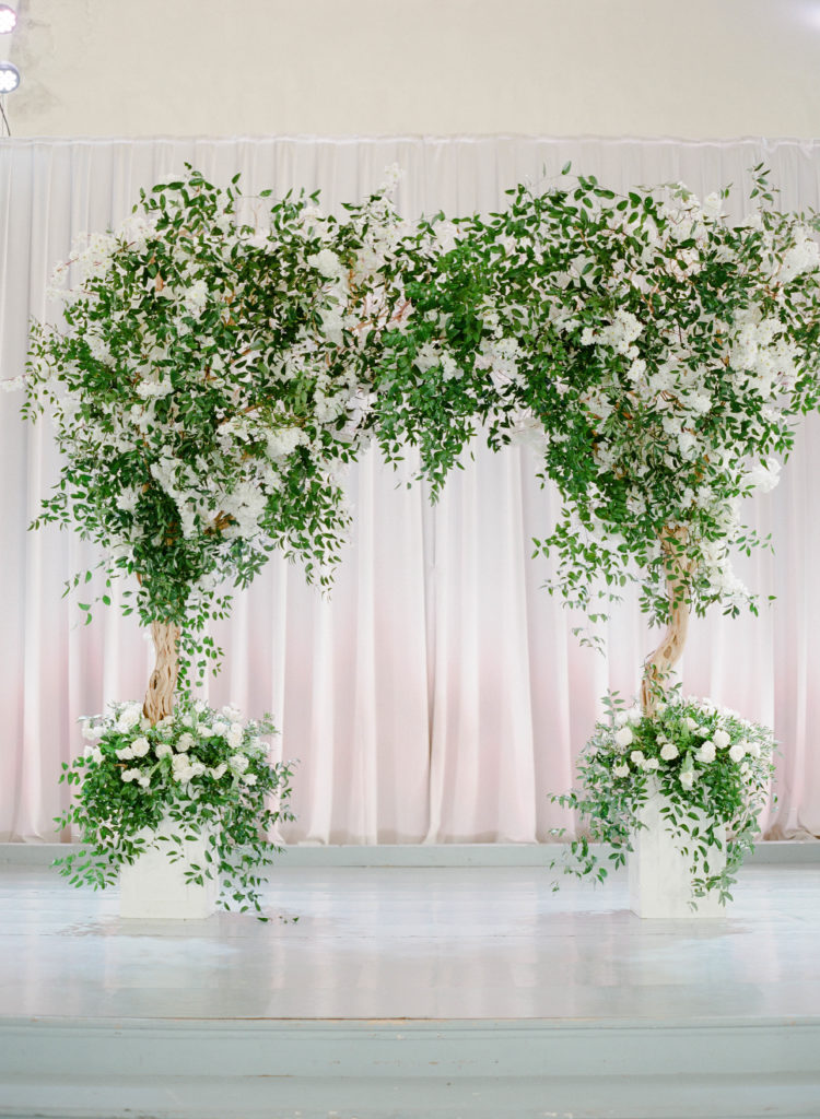 Ceremony Arch by Bella Blooms Floral in New Orleans