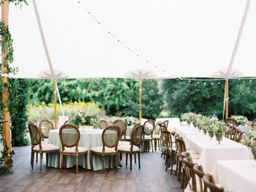 Tented Wedding From Sapphire Events
