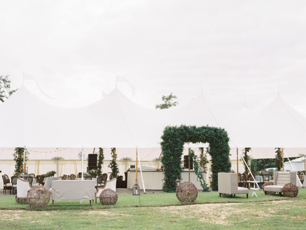 Luxury Tented Wedding From Sapphire Events