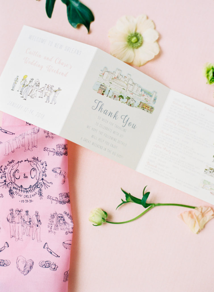 Stationery From Walking Man Studios and Sapphire Events