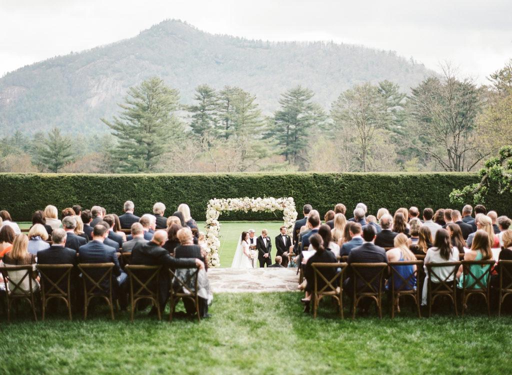 North Carolina Destination Wedding at Chattooga Club