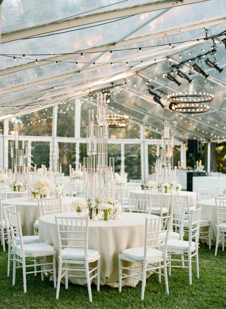 Tented Wedding With Turf From Sapphire Events